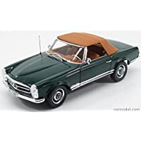 メルセデス ベンツ SLクラス 230SL ミニカー 1/18 ノレブ NOREV MERCEDES BENZ SL-CLASS 230SL SPIDER W113 1963 GREEN