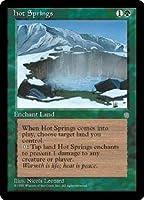 英語版 アイス・エイジ Ice Age ICE Hot Springs マジック・ザ・ギャザリング mtg