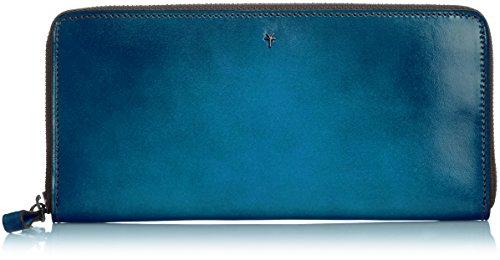 [ユハク] YUHAKU フォスキーア 束入れ [ラウンドファスナー] YFP114 BLU (ブルー)