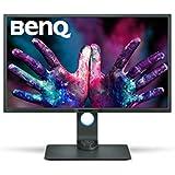 "BenQ PD3200Q 32"" 2K Designer Monitor, 2560x1440 2K QHD, 100% Rec.709, sRGB, CAD/CAM, Animation, Darkroom, KVM, Hotkey Puck, Dual View, Height Adjustable, HDMI, DP"