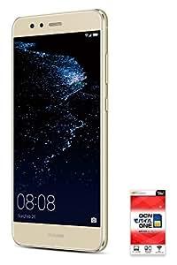 HUAWEI P10lite 【OCNモバイルONE SIMカード付】 (音声SIM, Platinum Gold)