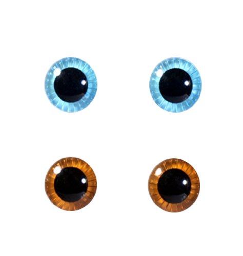 グルーヴ eyechips Selection Pullip (ライトブルー×ブラウン) ME-001