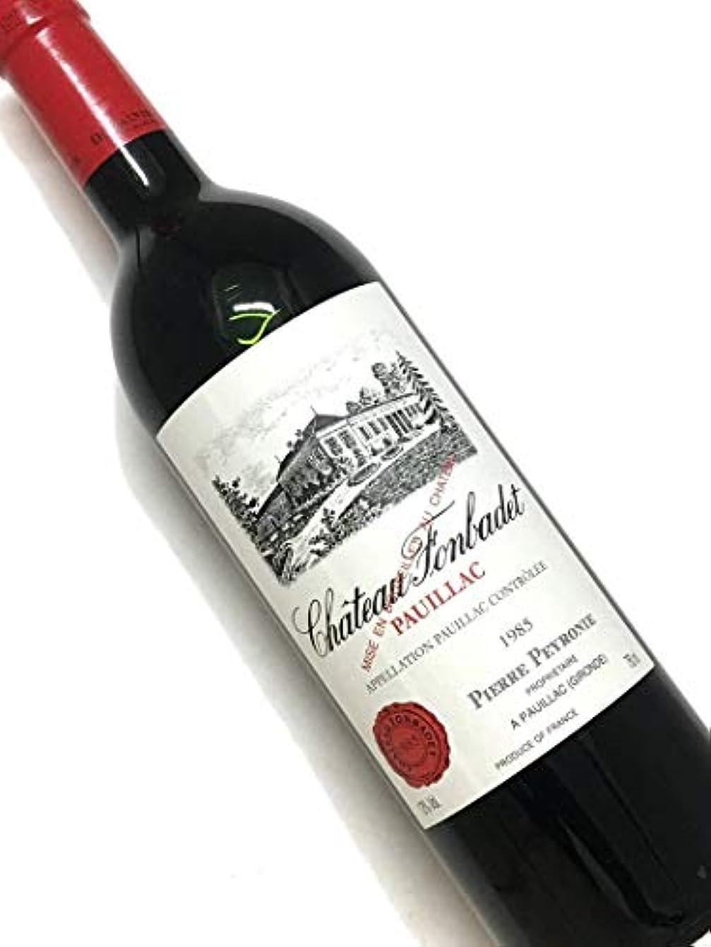 悲劇的なそんなにリットル1992年 シャトー フォンバデ 750ml フランス ボルドー 赤ワイン