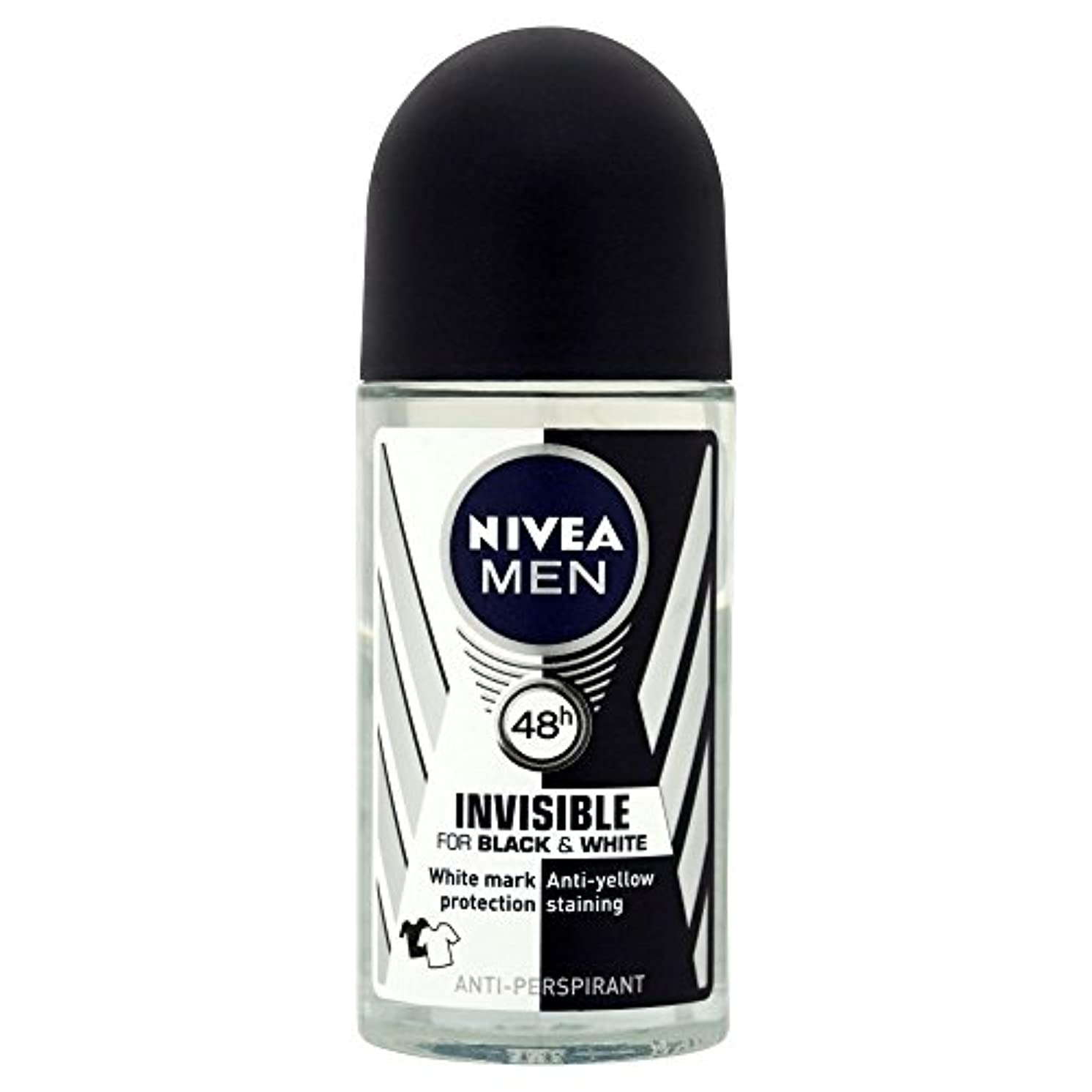 序文紫のルールNivea Men Invisible for Black & White 48h Anti-Perspirant Deodorant Power Roll-On (50ml) 黒と白の48時間制汗消臭パワーロールオン(...