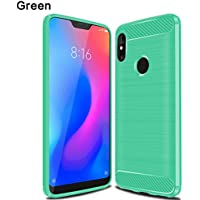 Xiaomi Mi A2 Lite ケース、Scheam Xiaomi Mi A2 Lite 携帯電話ケースシリーズ 超薄型 ファッションXiaomi Mi A2 Lite 保護ケース-Green