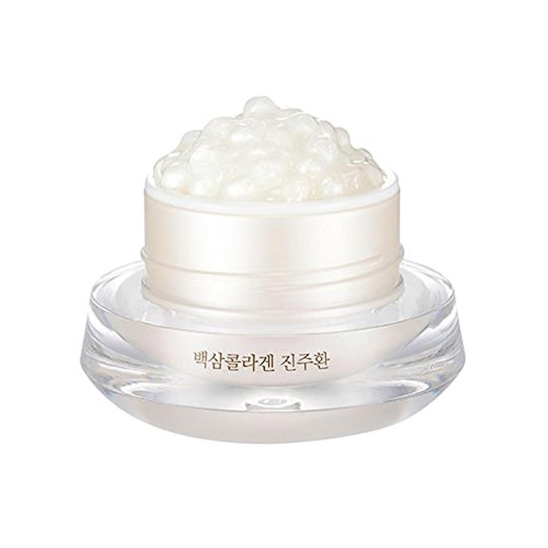 頭大学院コンパクト[ザ?フェイスショップ] The Face Shop 白参 コラーゲン パール カプセルクリーム White Ginseng Collagen Pearl Capsule Cream [並行輸入品]