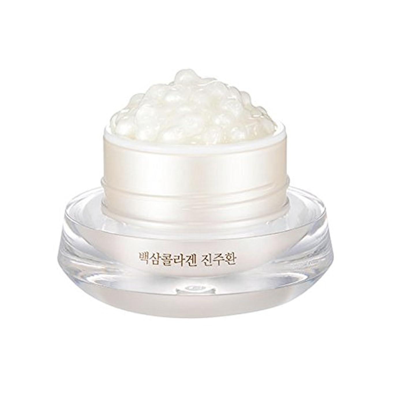 クロール噴火愛情深い[ザ?フェイスショップ] The Face Shop 白参 コラーゲン パール カプセルクリーム White Ginseng Collagen Pearl Capsule Cream [並行輸入品]