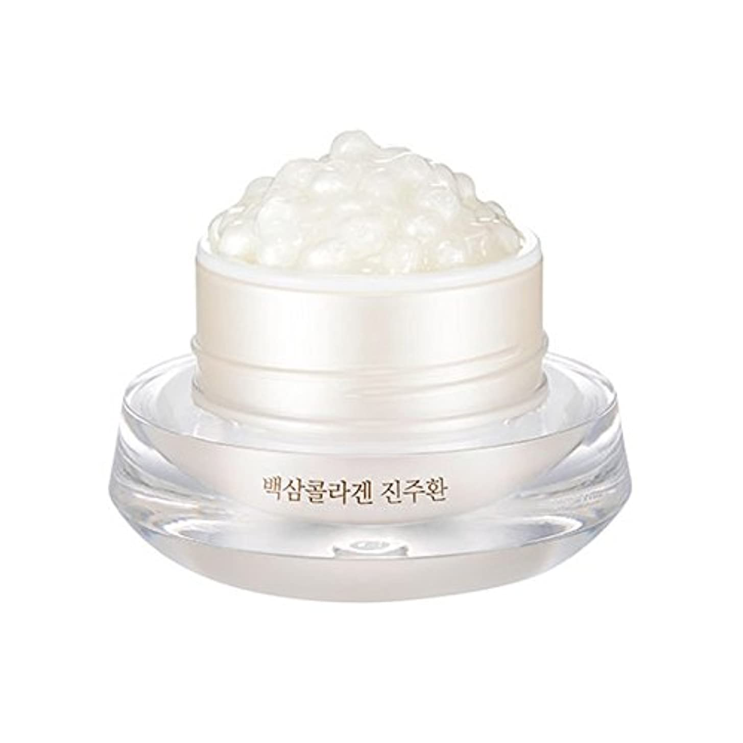 キャッチ収穫州[ザ?フェイスショップ] The Face Shop 白参 コラーゲン パール カプセルクリーム White Ginseng Collagen Pearl Capsule Cream [並行輸入品]