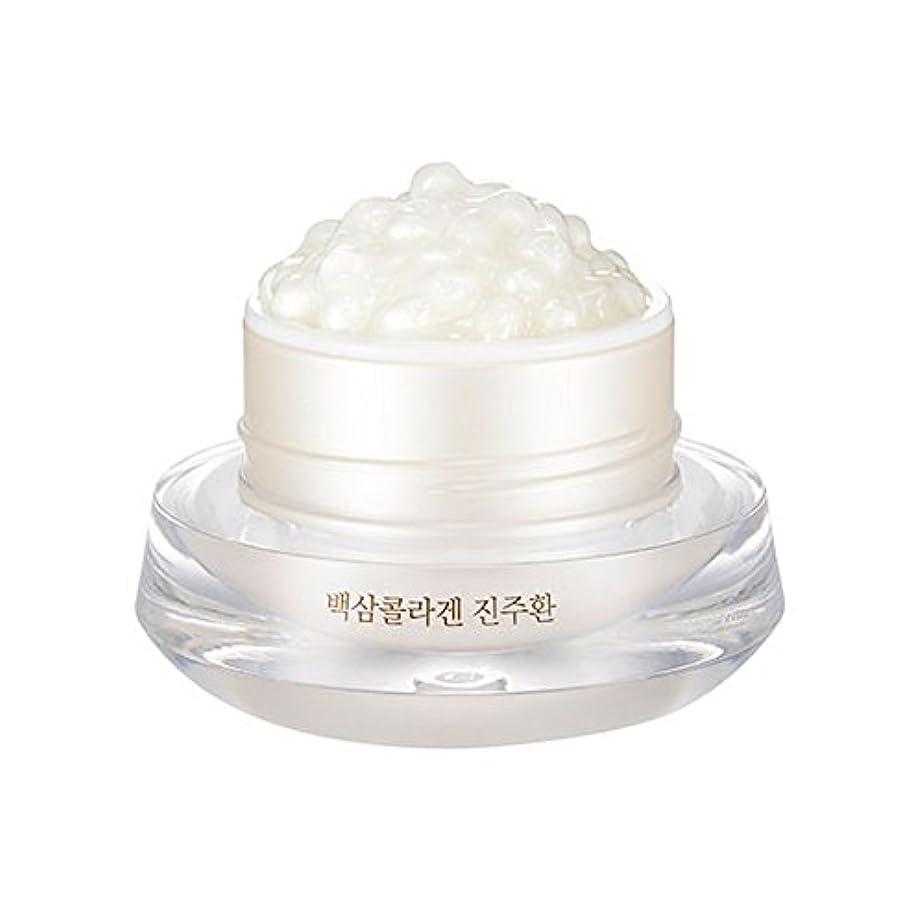 積分代わりにを立てる発生する[ザ?フェイスショップ] The Face Shop 白参 コラーゲン パール カプセルクリーム White Ginseng Collagen Pearl Capsule Cream [並行輸入品]
