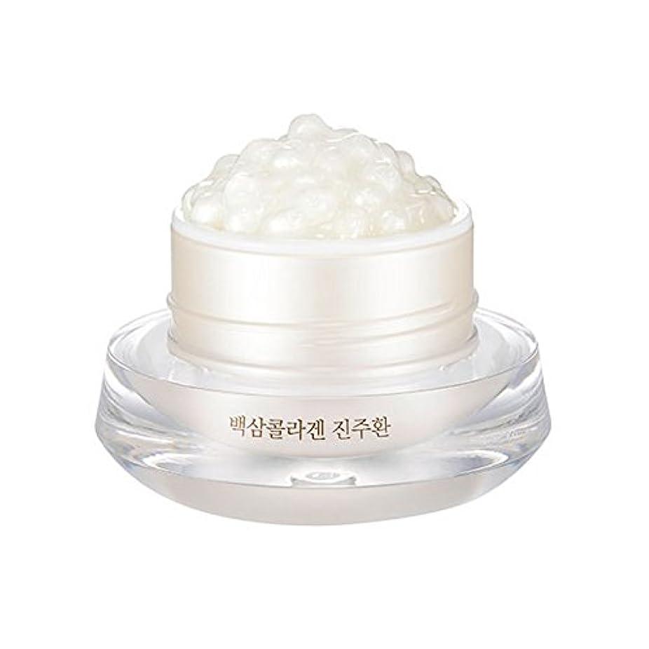 トン岩排出[ザ?フェイスショップ] The Face Shop 白参 コラーゲン パール カプセルクリーム White Ginseng Collagen Pearl Capsule Cream [並行輸入品]