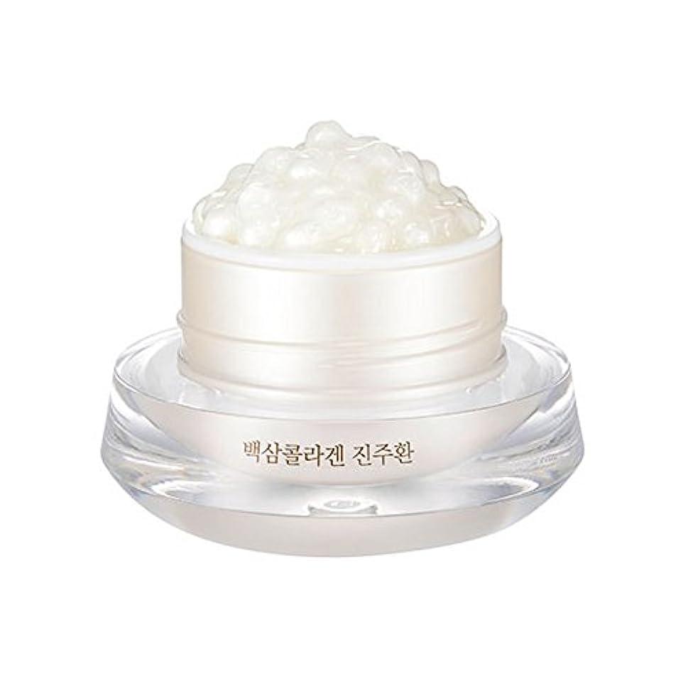 数字酸化するしなやか[ザ?フェイスショップ] The Face Shop 白参 コラーゲン パール カプセルクリーム White Ginseng Collagen Pearl Capsule Cream [並行輸入品]