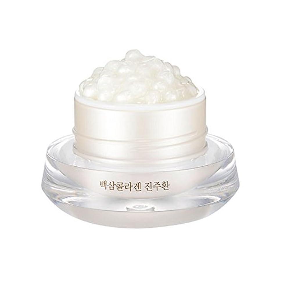 サイズモック六[ザ?フェイスショップ] The Face Shop 白参 コラーゲン パール カプセルクリーム White Ginseng Collagen Pearl Capsule Cream [並行輸入品]