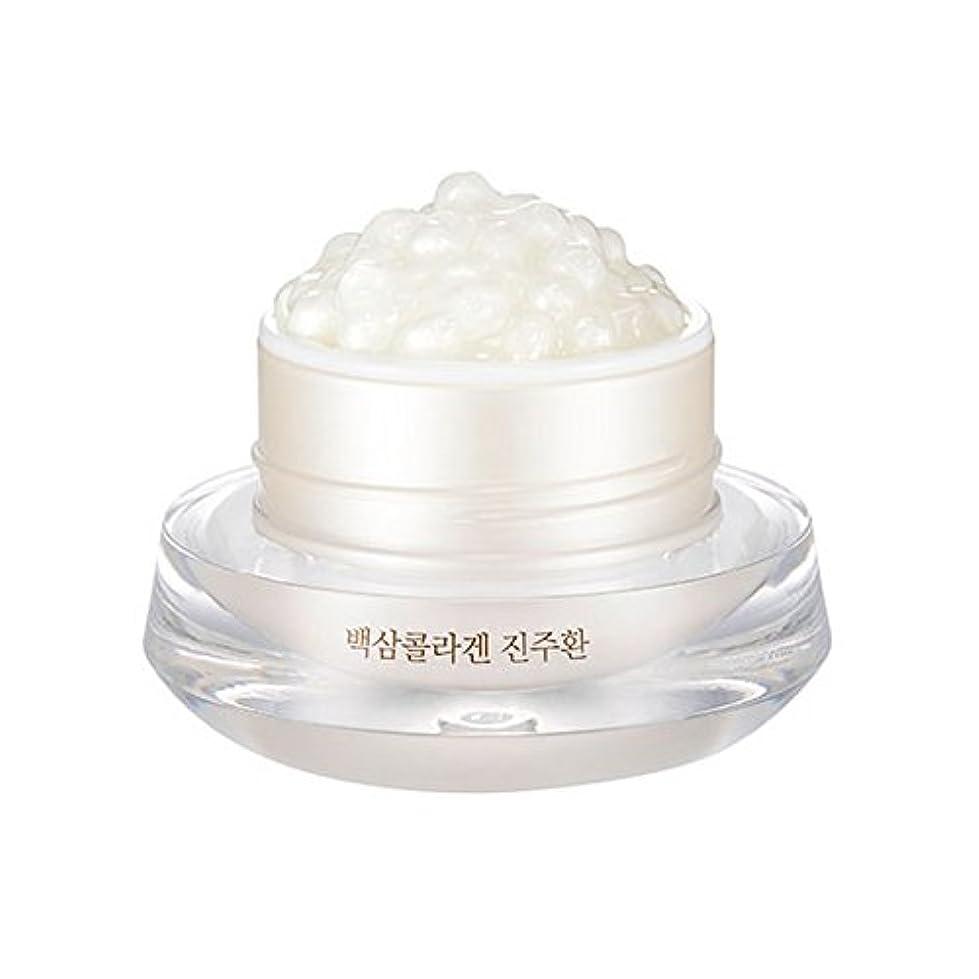 とんでもないチャーム妻[ザ?フェイスショップ] The Face Shop 白参 コラーゲン パール カプセルクリーム White Ginseng Collagen Pearl Capsule Cream [並行輸入品]