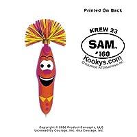 Kooky Klicker Pen Keyring Krew 23 Sam