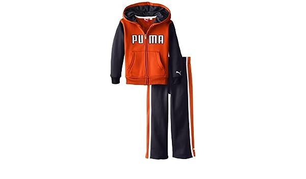 PUMA Little Boys PUMA Logo Poly Fleece Set PBF44074