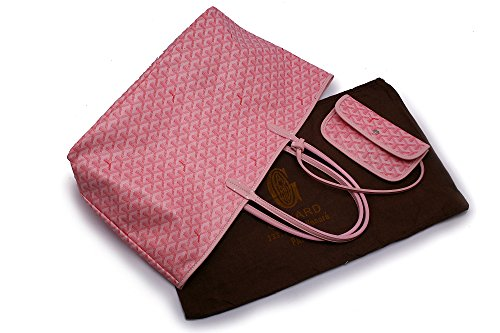 GOYARD( ゴヤール)サンルイ トートバッグ レディースバッグSaint Louis M/L 多色選べる (L, ピンク) [並行輸入品]