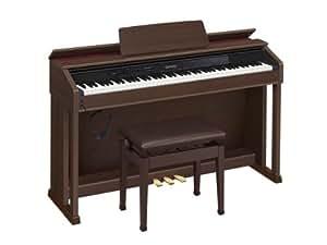 カシオ 電子ピアノ セルビアーノ AP-450BN ブラウン