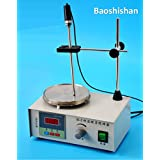 110V Lab Stirrer mixer Magnetic Stirrer with heating plate hotplate mixer temperature dispaly