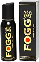 Fogg Fresh Woody Body Spray - 120 Ml (Pack of 2)