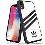 adidas OR Moulded Case PU FW18 for iPhone XR, White, Samba