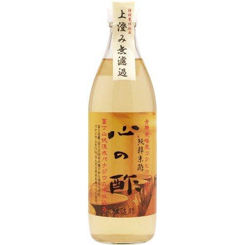 心の酢(純粋米酢) 500ml 【オーサワ】