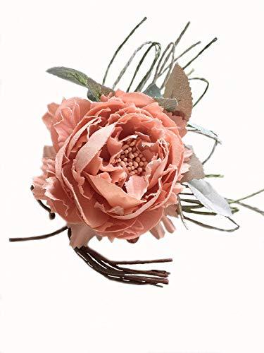 ピオニーコサージュ (ピンク)入学式 卒業式 成人式 結婚式...