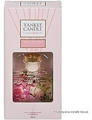 カメヤマキャンドル(kameyama candle) YANKEE CANDLE リードディフューザー 「 フレッシュカットローズ 」