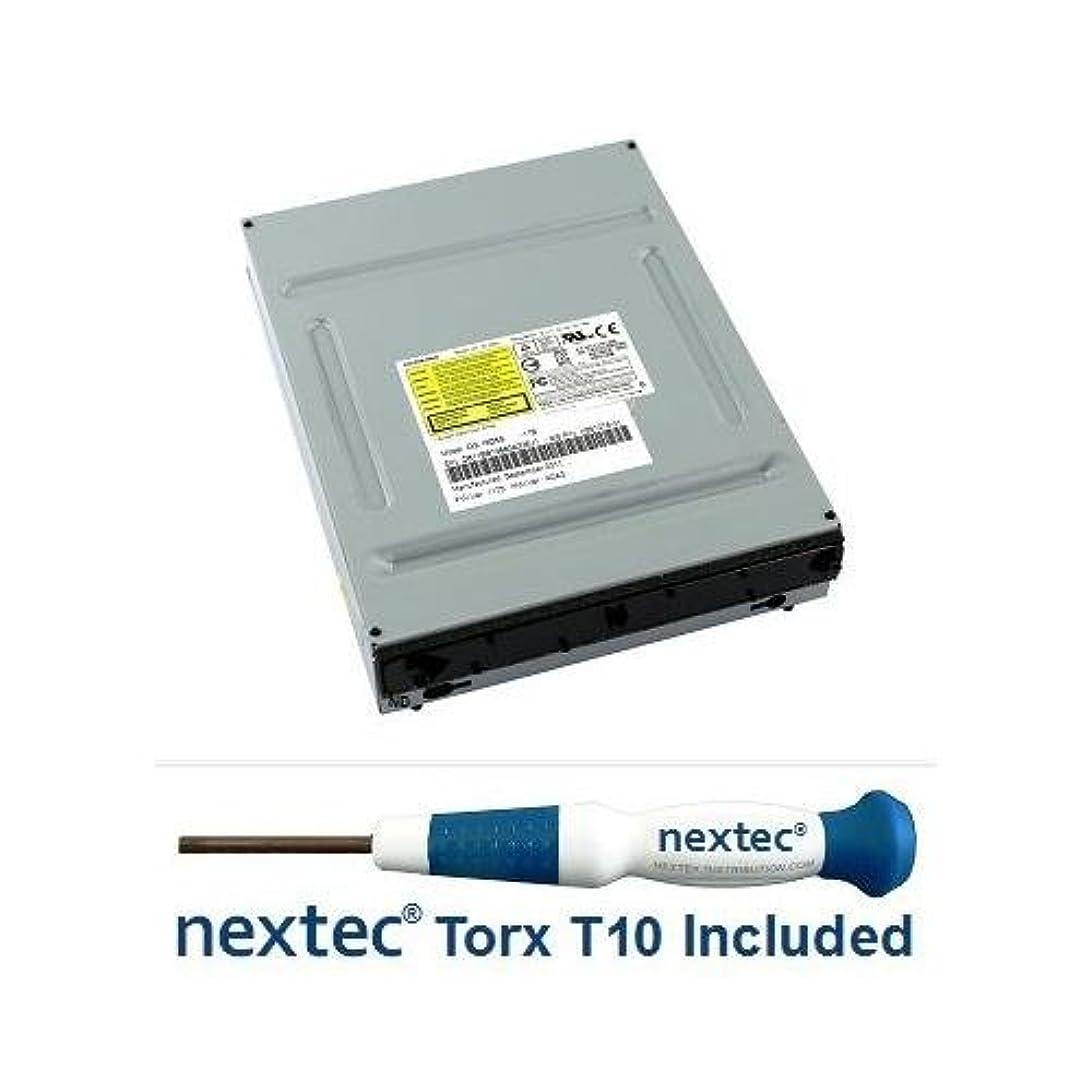 アナログ弓十二Microsoft Xbox 360 (スリム) DVDドライブ – フィリップス: Liteon ( dg-16d4s : 0225 ) + NEX。。。