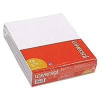 ユニバーサル スクラッチパッド 罫線なし 5インチ x 8インチ ホワイト 12枚 100枚入り (35615)