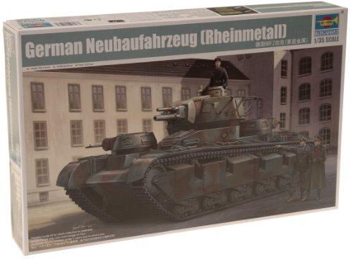 1/35 ドイツ軍 ノイバウ・ファールツォイク ラインメタル砲塔