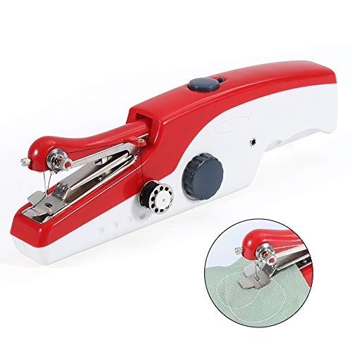 ハンディミシン Kawish コンパクトミシン 電動ミシン(最新モデル)ハンドミン,ミニ小型乾電池の手持ち縫い初心者に適しています[ホーム][簡単操作][日本語マニュアル付き]