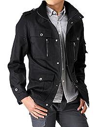 (アローナ)ARONA 綿サテン M65 ミリタリー ジャケット メンズ