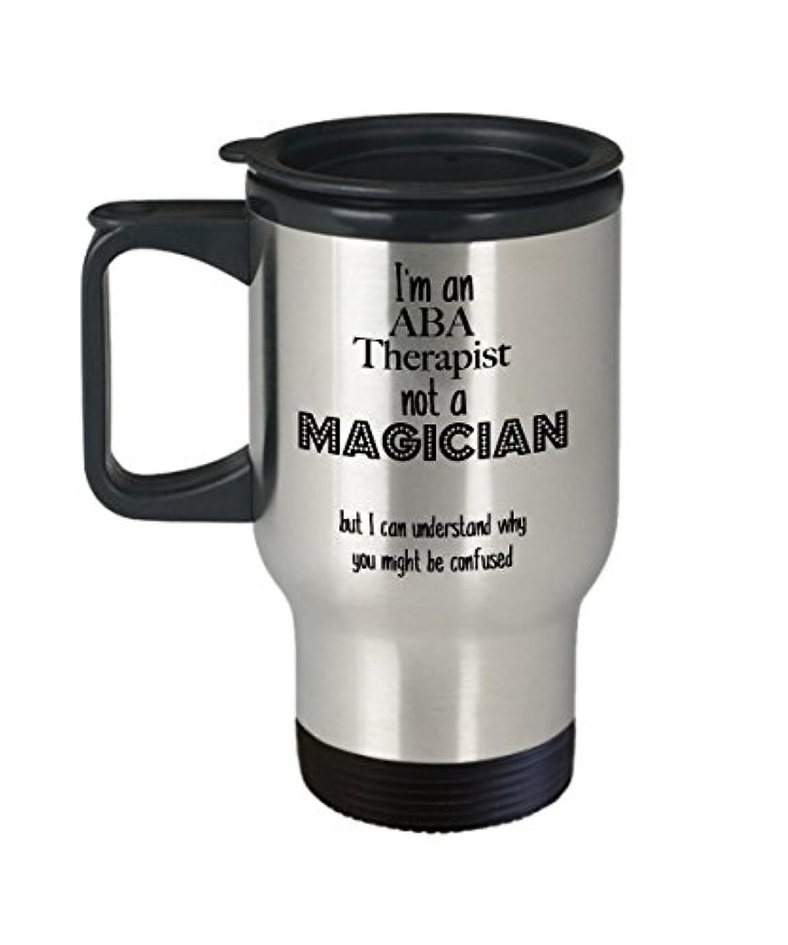 スプーン理想的には血色の良いABA Therapistマグ、ギフト面白いコーヒーカップ