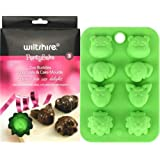 Wiltshire Party Bake Zoo Buddies Chocolate and Cake Silicone Moulds