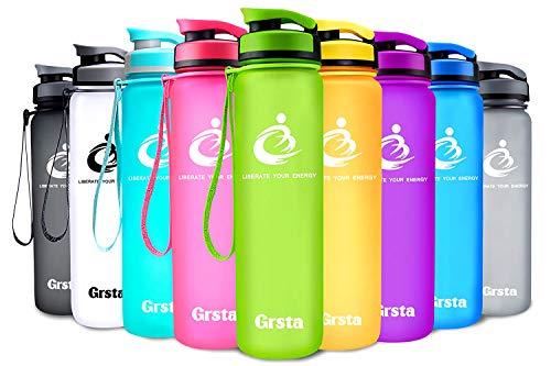 Grsta ボトル 水筒 ウォーターボトル アウトドアボトル...