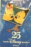 東京ディズニーリゾート 25周年 ミッキー&ミニー ピンバッチ