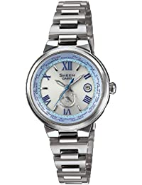 [カシオ]CASIO 腕時計 SHEEN Voyage Series 世界6局電波対応ソーラーウォッチ     SHW-1509D-7A2JF レディース