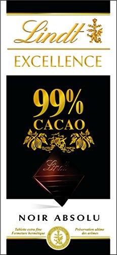 高カカオチョコレートのリンツエクセレンス99%