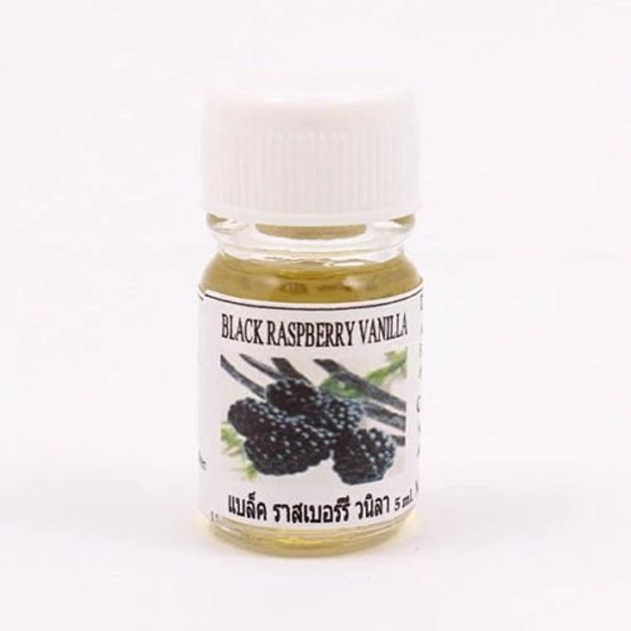 レンチ根拠に賛成6X Black Raspberry Vanilla Fragrance Essential Oil 5ML. Diffuser Burner