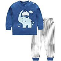 2020 New Pure Cotton Children's Underwear Set for Boys and Girls Autumn Clothes Autumn Pants Baby Home