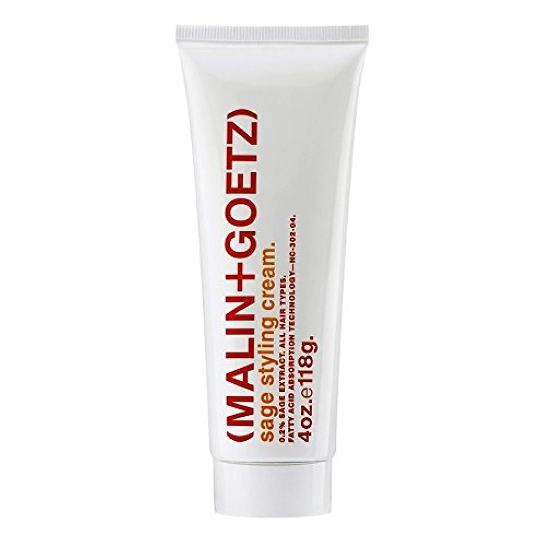 形人気咽頭MALIN+GOETZ Sage Styling Cream - マリン+ゲッツセージスタイリングクリーム [並行輸入品]