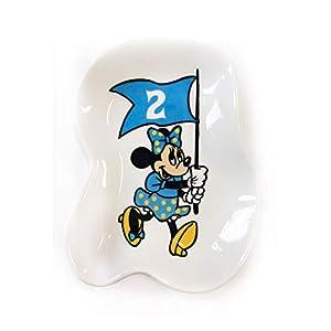 ディズニー ノスタルジカ 変形小皿 ミニーマウス フラッグ2 DSHF660N