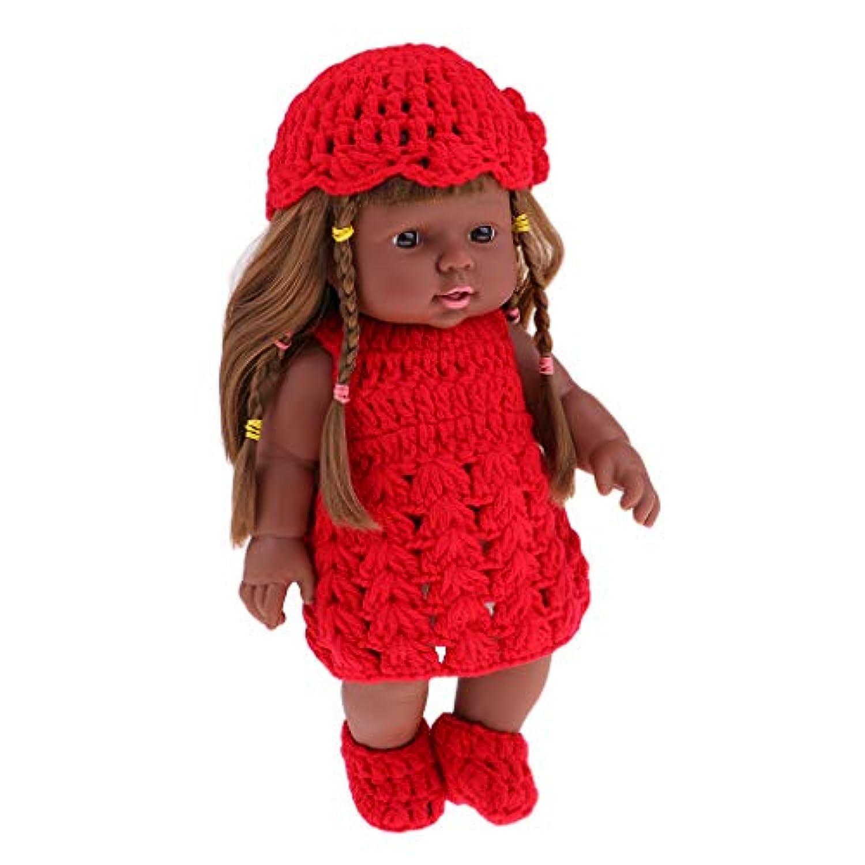 Fenteer リアルライフ人形 新生児ドール 30cm 新生児 赤ちゃんドール ギフト ベビー ケア トレーニング 抱き人形 リボーンベビーガール人形 - #2