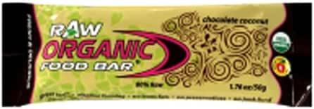 Organic Food Bar OFB Raw Coconut Bar 50 g (order 12 for retail outer) / 有機食品バー?ココナッツOFBバー50グラム(小売作者用のオーダ12 )