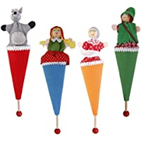 KOZEEY 【ノーブランド 品】ピエロ 笑顔 子供 おもちゃ かくれんぼ おもちゃ ギフト 贈り物 赤ずきん