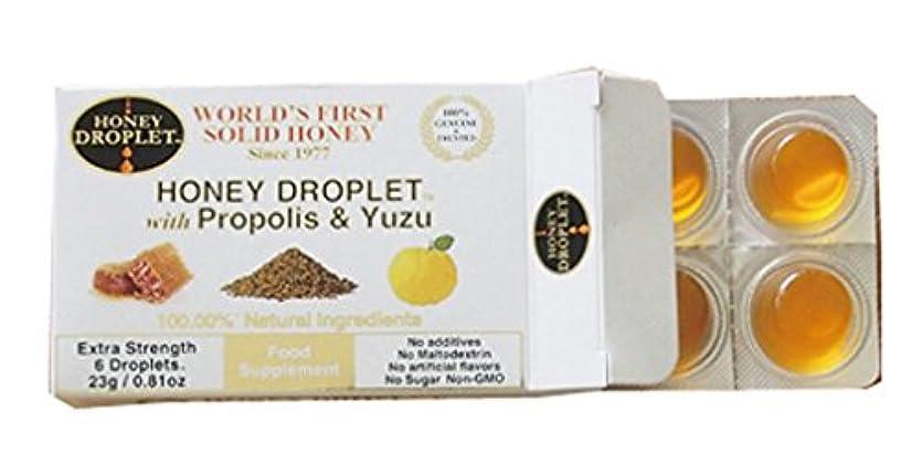 慢性的相続人資格ハニードロップレット プロポリス&柚子入 (23g / 6粒)