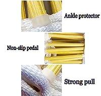 避難梯子 ロープラダー 2-12階ベアリング重量350kg軽量 コンパクト 折りたたみ 柔らかい ナイロン黄色の樹脂はしごフレーム フック付き 万が一に備えて 避難防災用 梯子 ビル 壁面 クライミング 登り作業 (Size : 3m(9.8'))