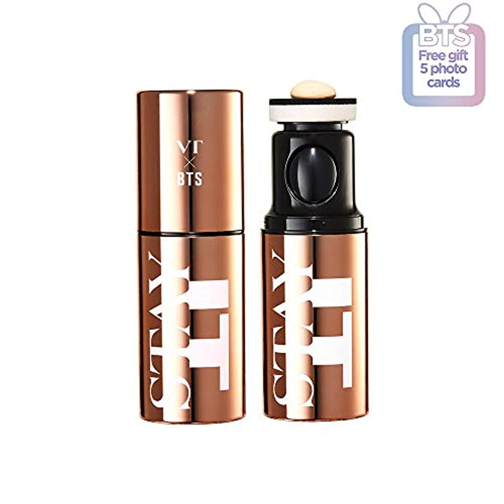 暴行色合い雇ったVT BTS STAY IT TOUCH FOUNDATION 防弾少年団 ファウンデーション (21 Light Beige) 2019 VT X BTS Edition Season 2 Korean Cosmetics...