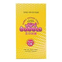 [TSP-Korea] Joy Bubble - バブル シャワー タオル 旅行 旅 携帯 使い捨て シャワータオル(2 types)[並行輸入品] (子供用)