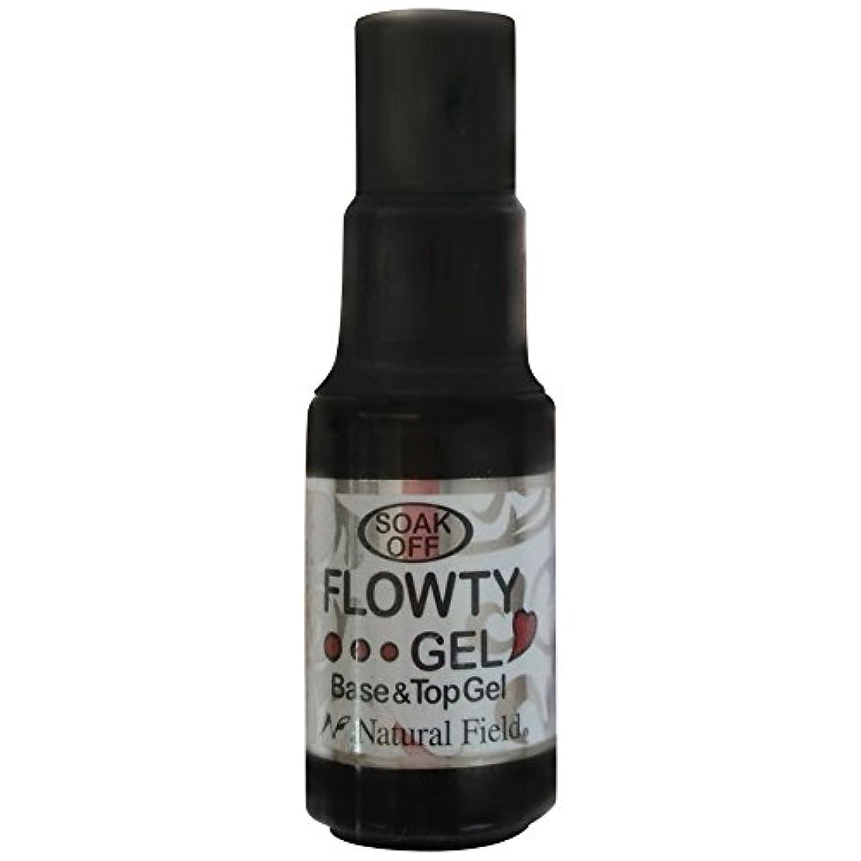精通したオーロック浸食Natural Field Melty Gel フローティジェル 4100 ベース&トップジェル 7ml